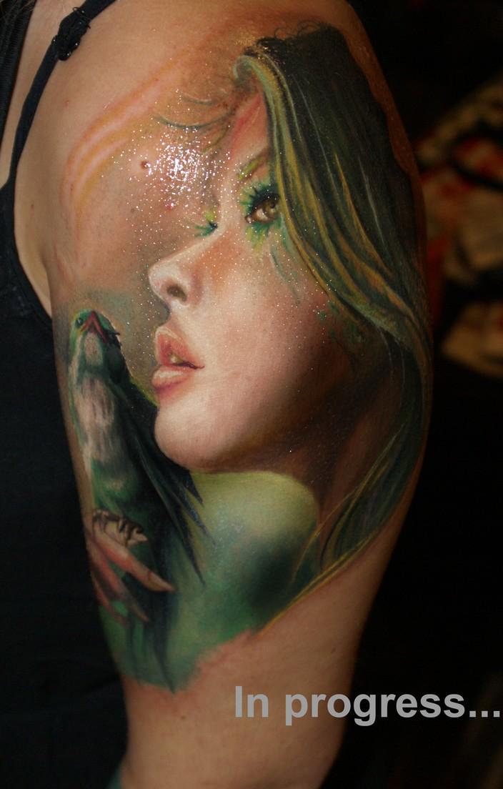 Realistic tattoo by ducktattoo on deviantart for Best realistic tattoo artists