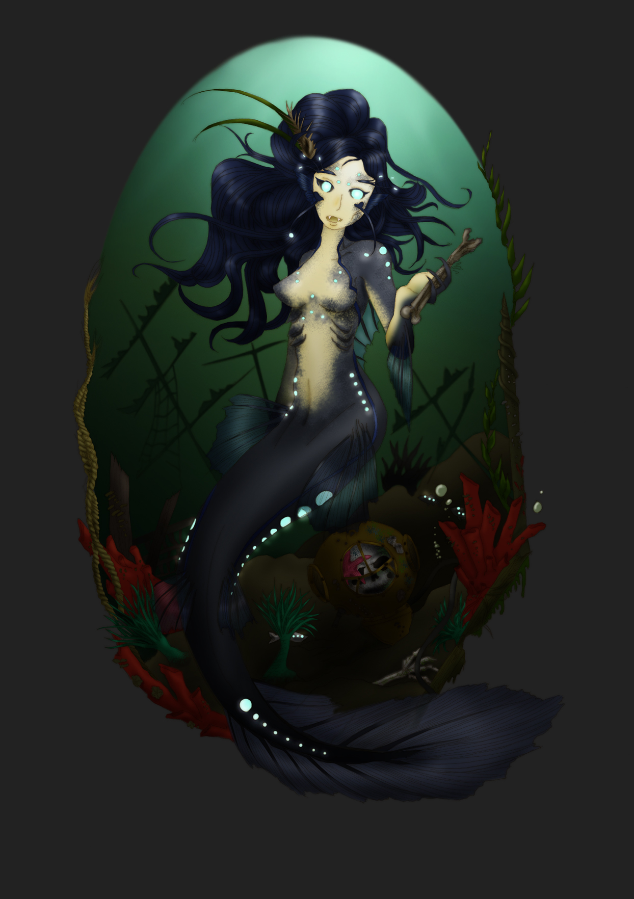 Siren of the Deep by SylentNyte