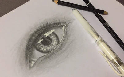 Eye drawing practice