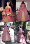 'Tudor Rose' gown