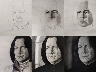 Prof Snape drawing timelapse