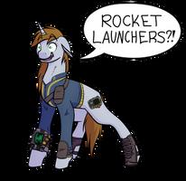 Fallout: Equestria: Rocket Launchers?!