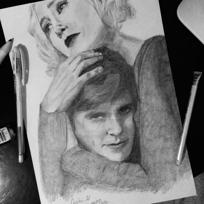 Bates Motel - Norma and Norman by themagicofpotter