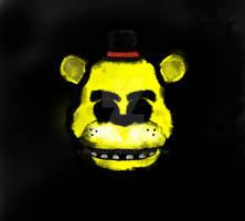 [FNAF FAN ART] Golden Freddy
