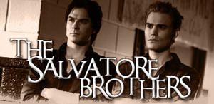 The Salvatore Brothers Signature
