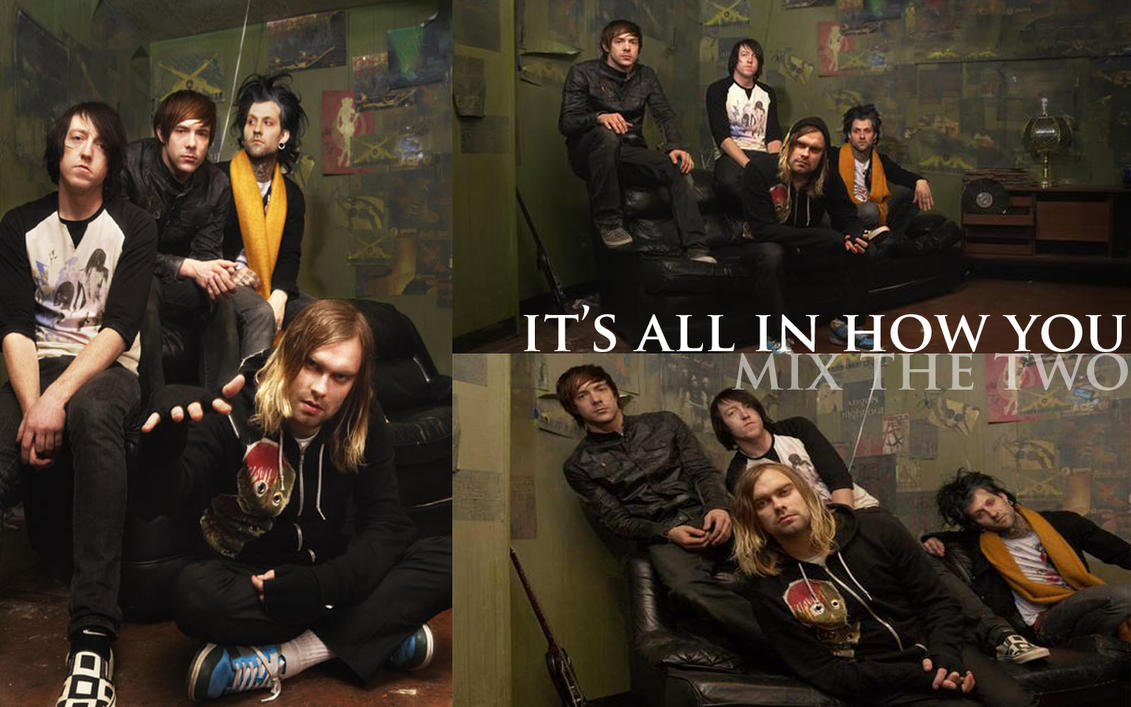 The Used - Wallpaper by ~impersonationstation on deviantART