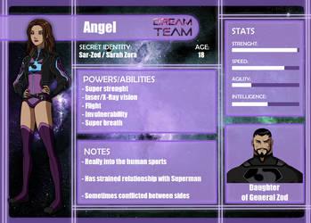 Dream Team App: Angel by Estrella-Angel