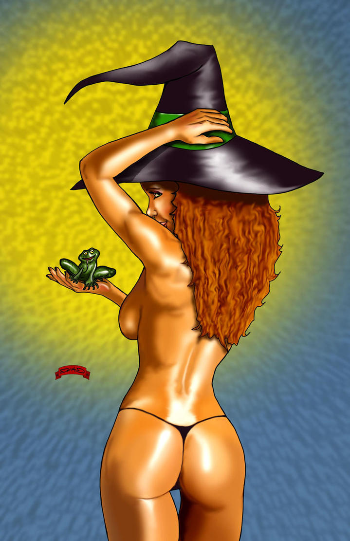 Frog Witch by Dan-DeMille
