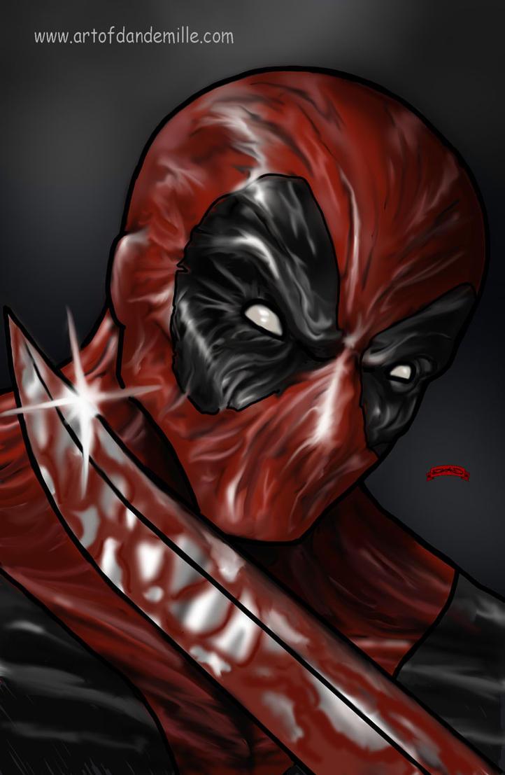 Deadpool Blade by Dan-DeMille