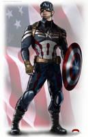 Captain America by Dan-DeMille