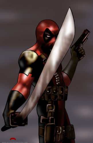 Deadpool Weapon by Dan-DeMille