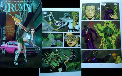 Romy Comic Issue 1 by Dan-DeMille
