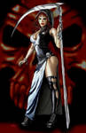 Keres the goddess of death