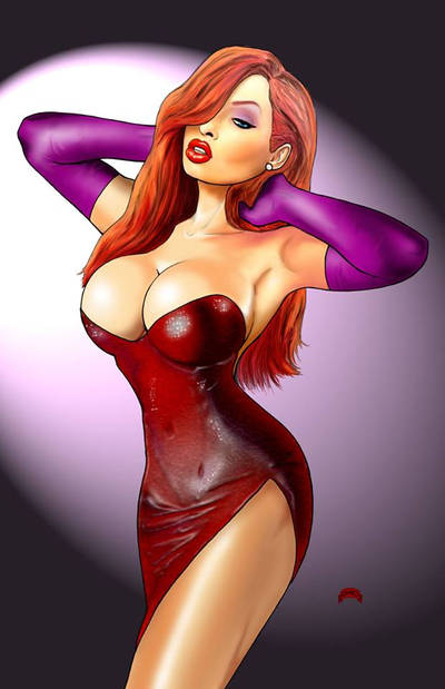 Jessica Rabbit by Dan-DeMille
