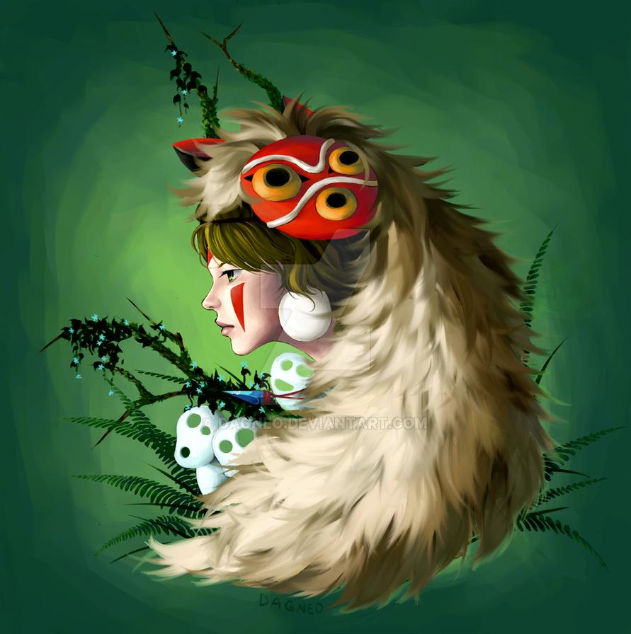 Princess Mononoke Fan Art by Dagneo