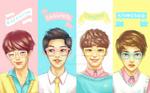 Pastel EXO 92-line!
