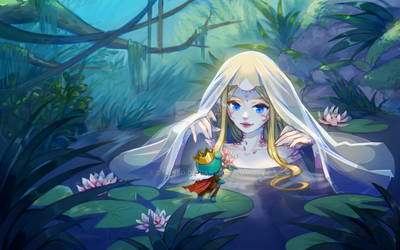 The mermaid and the frog prince