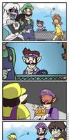 Super Crown Fan Comic Parody