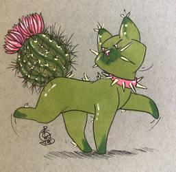 Inktober 2018 Day 25: Prickly by Q2k-art