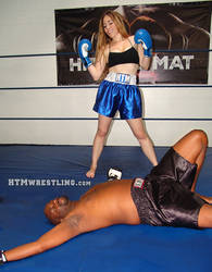 Sam Defeats Darrius?? by boxingwrestling