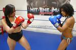 Annie vs Misty Foxy Boxing