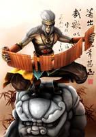 Monkey King by SilentGPanda
