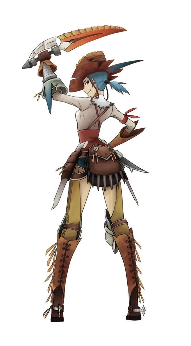 Anime Characters Monster Hunter World : Monster hunter character by silentgpanda on deviantart