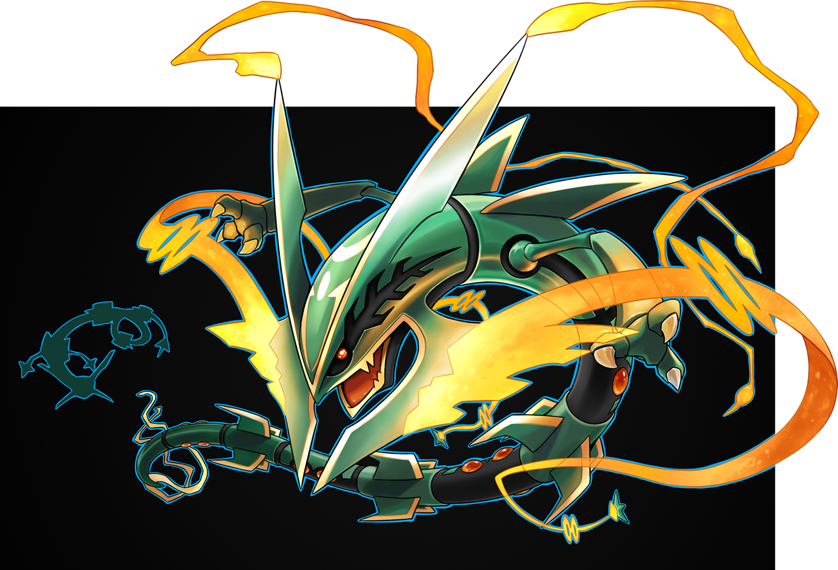 how tall is mega rayquaza
