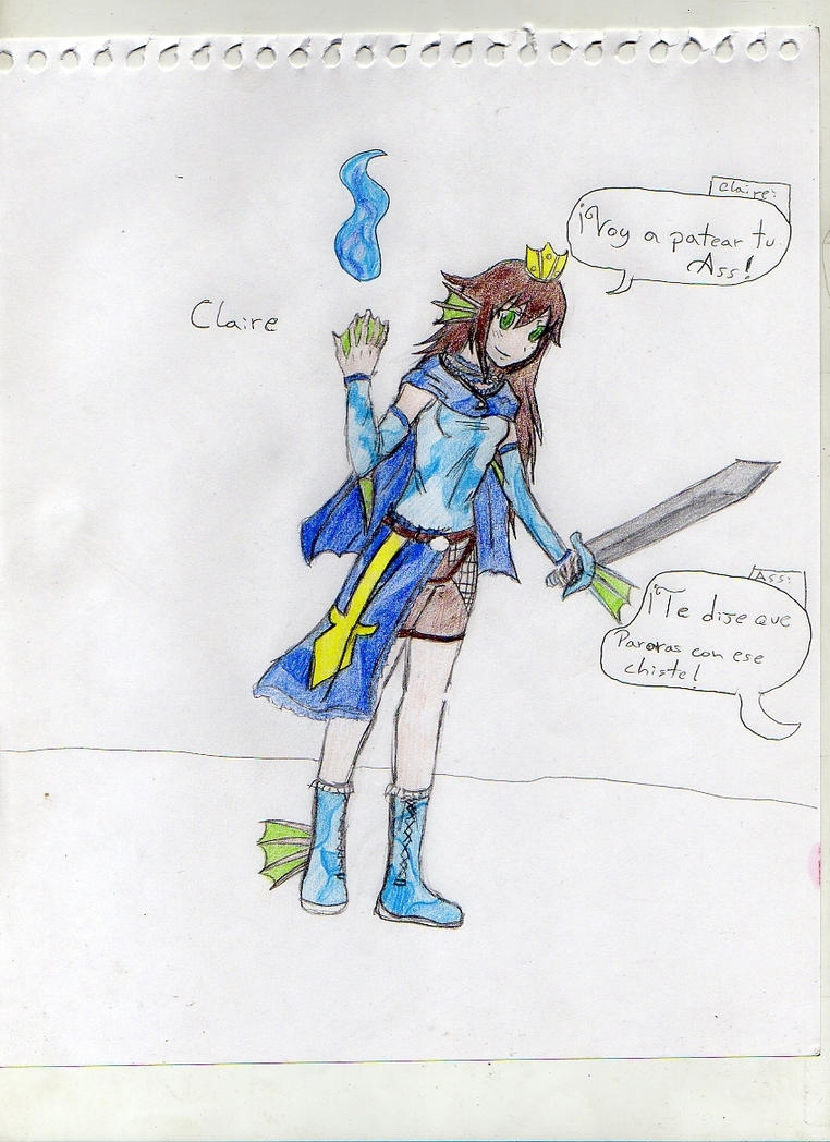[RPG Maker Ace] Angelic Profile 2 Claire_siren_by_oda_by_killer690-d5ygl90