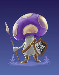 Mushroom Soldier - Concept by ToferVs