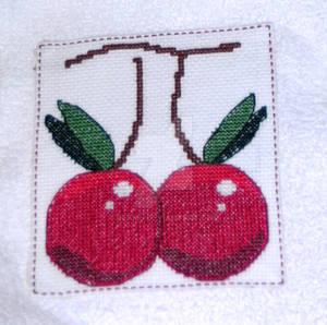 Cherry Pi - Cross Stitch