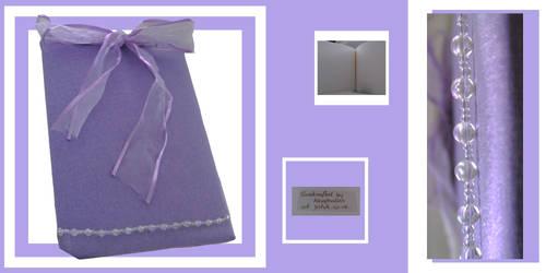 Purple note or wedding book