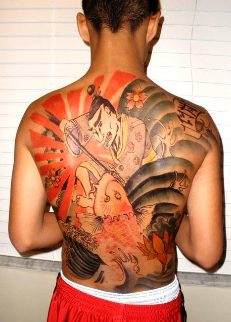 526078576 Japanese style back tattoo by nomad037 on DeviantArt