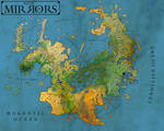 Realm of Mirrors:  Official Map