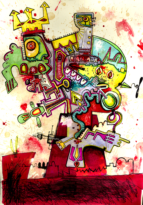 Ganesh Flexi Rolleroni by Semiotext
