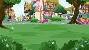 Ponyville background 5