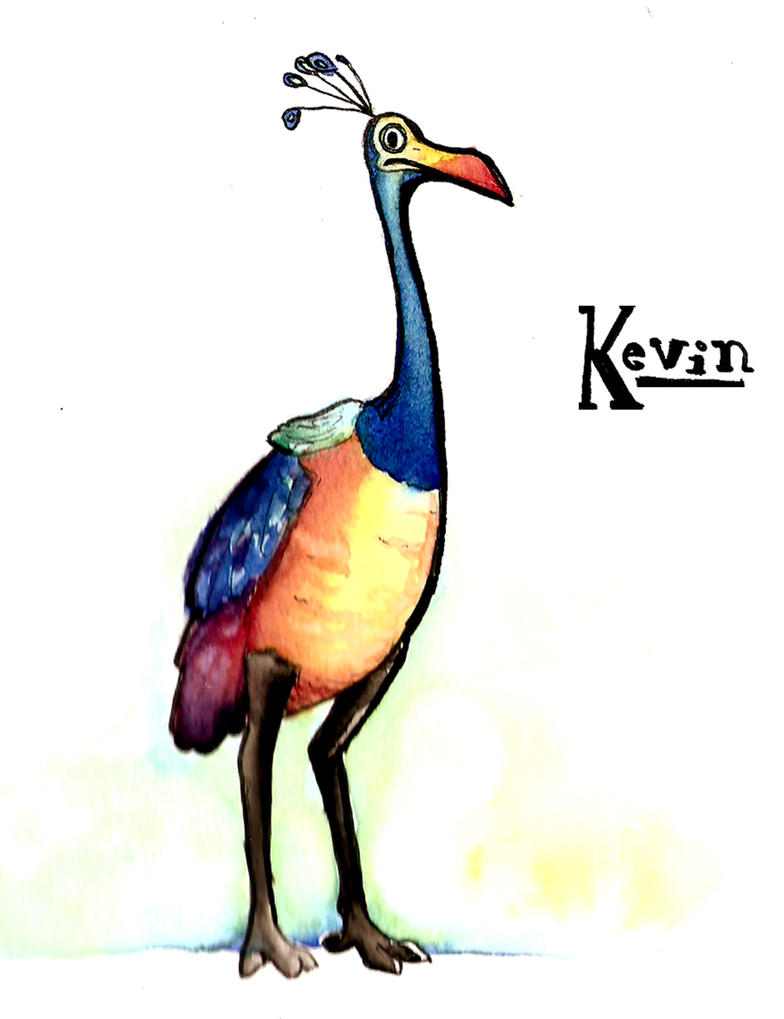 Kevin from Up by LillieroseRE on DeviantArt Kevin Up Bird Noise