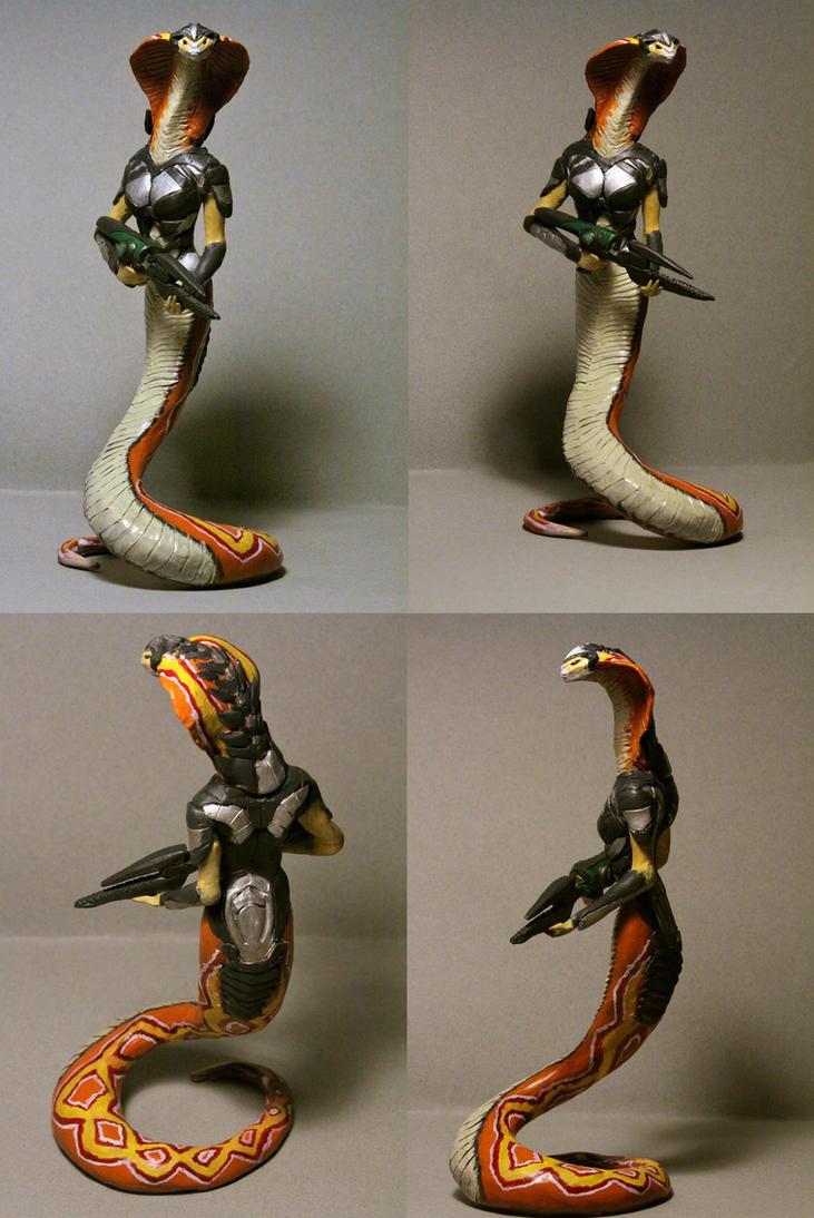 Xcom 2 Viper figure by AnotherDungeonhero