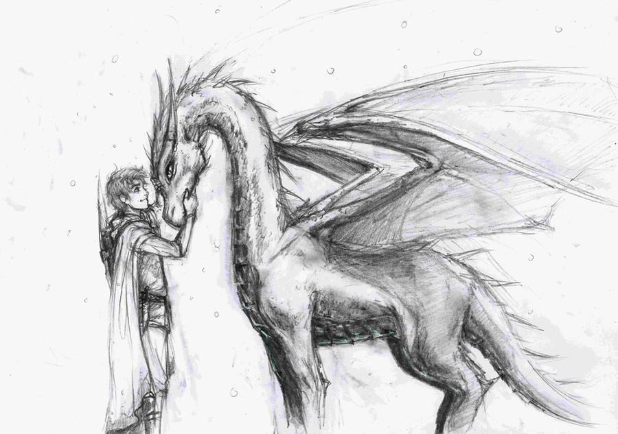 Eragon and Saphira by