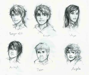 Eragon: character sheet by lorellashray