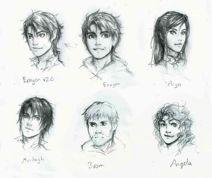 Eragon character sheet by Eragon And Arya Drawings
