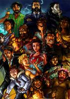 The Olympians by lorellashray