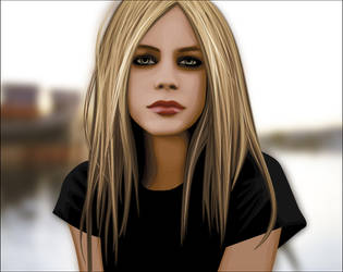 Avril by m0nobody