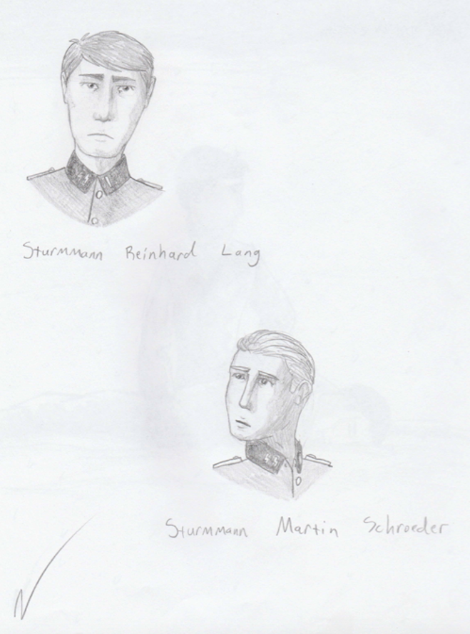 Reinhard Lang and Martin Schroeder by OutfoxedFox