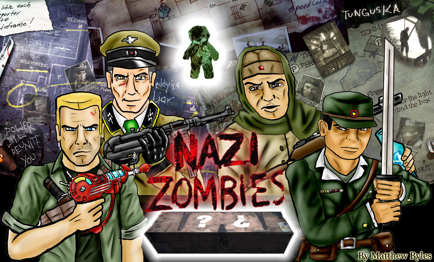My Nazi Zombies Wallpaper by mattbyles