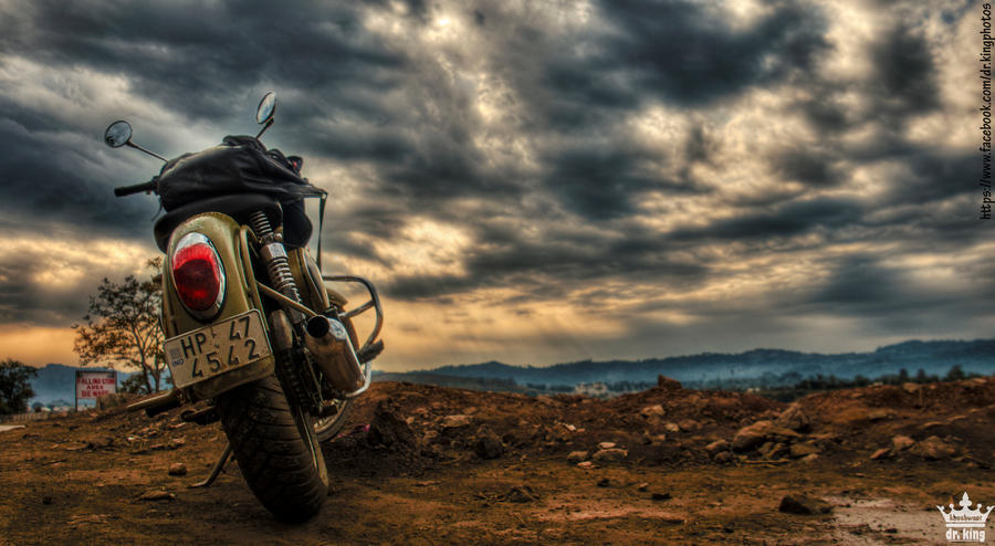 Royal enfield desert storm 05 by drkingks