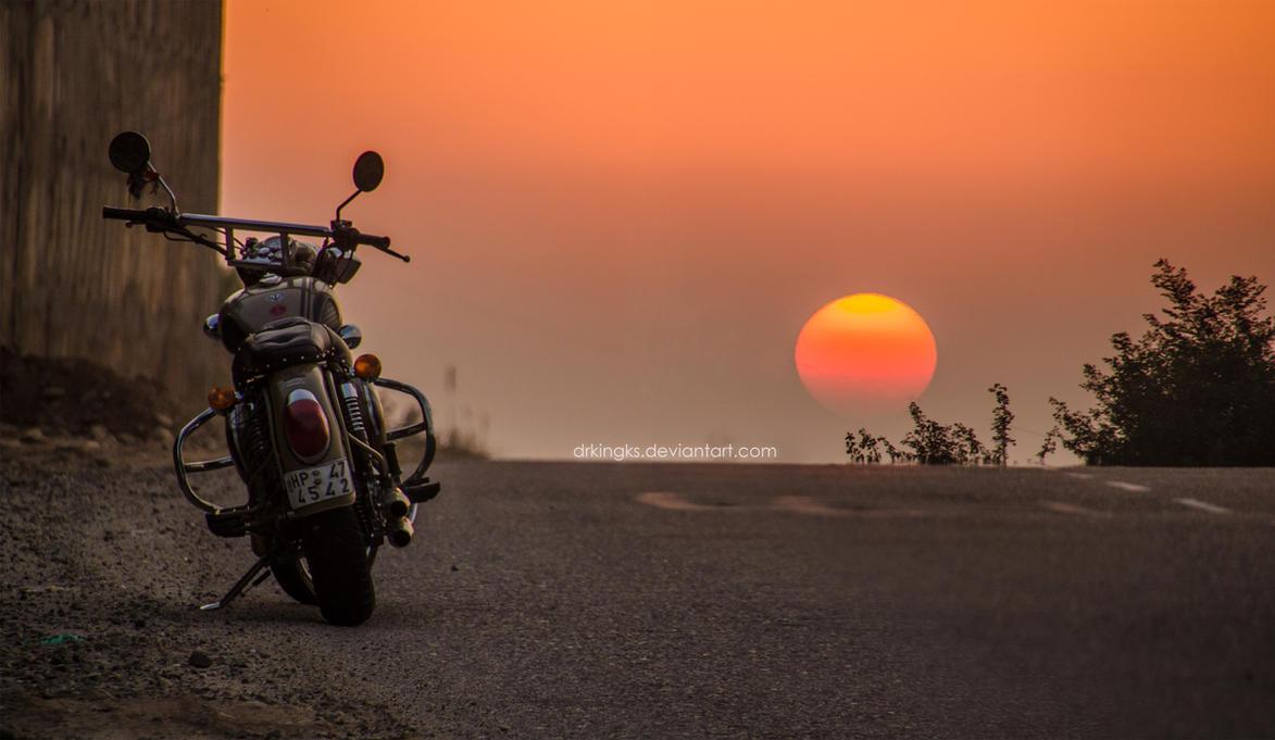 the rider's sunset! by drkingks on DeviantArt