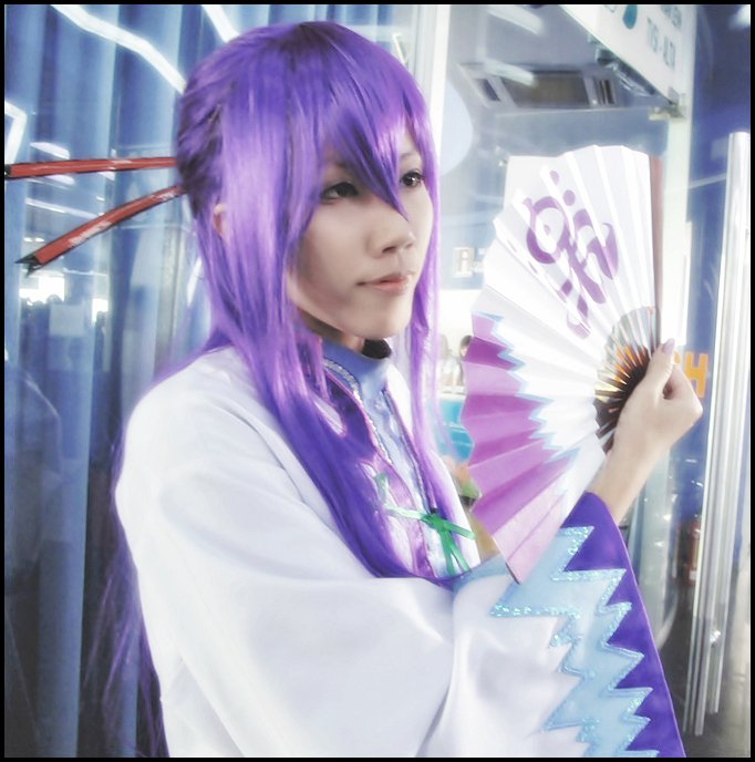 Gakupo cosplay in WFF2009 by Yukirin-Shita