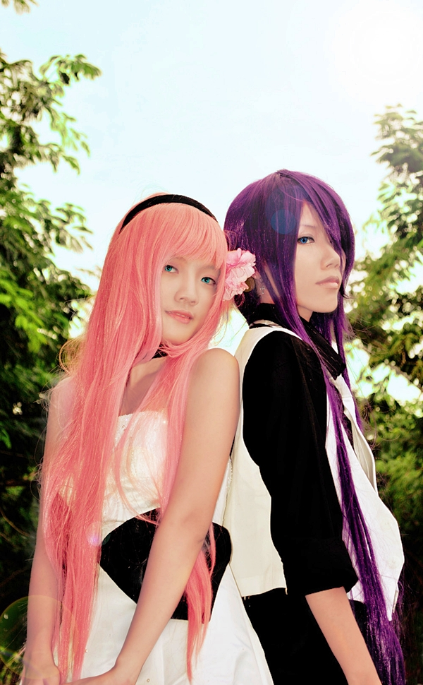 Vocaloid - Just a game 01 by Yukirin-Shita