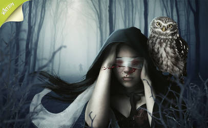 woodland witch by GestiefelteMieze